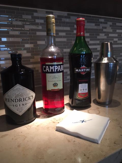 Celebrity Bar Setup
