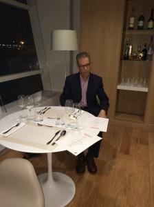 Paris - AAC choosed dinner