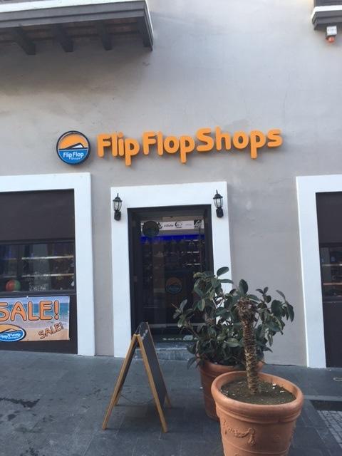 San Juan Flip Flops