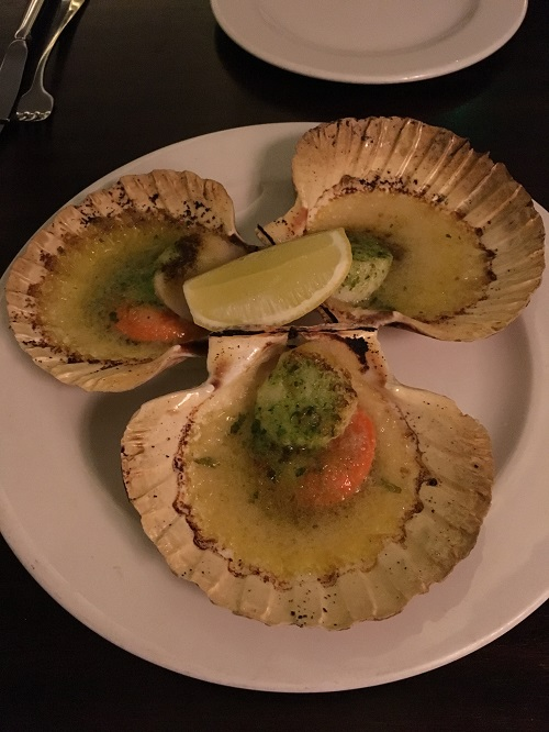 Day 3 - Hawksmoor Scallops