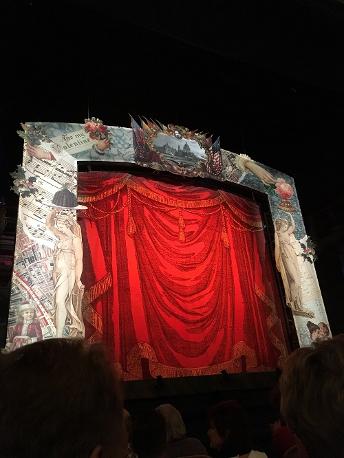 Day 5 - A Christmas Carol Show Curtain