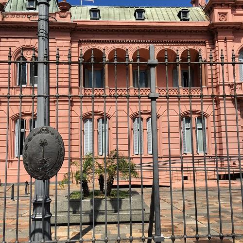 Casa Rosada Balcony