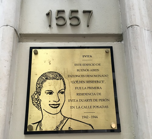 Evita at Melia Recoleta Plaza