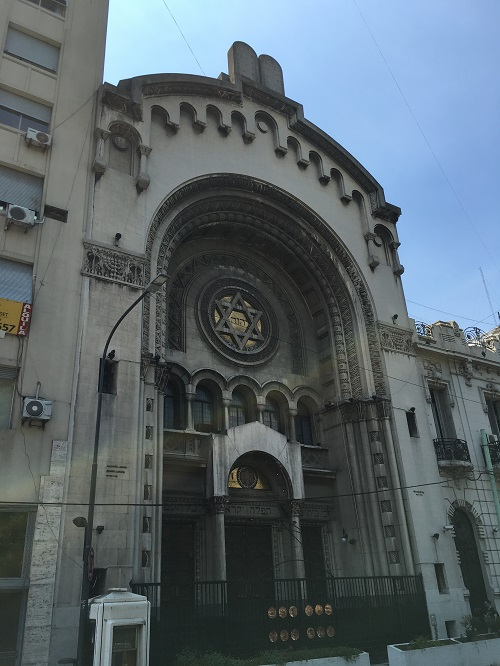 Libertad Synagogue Gates