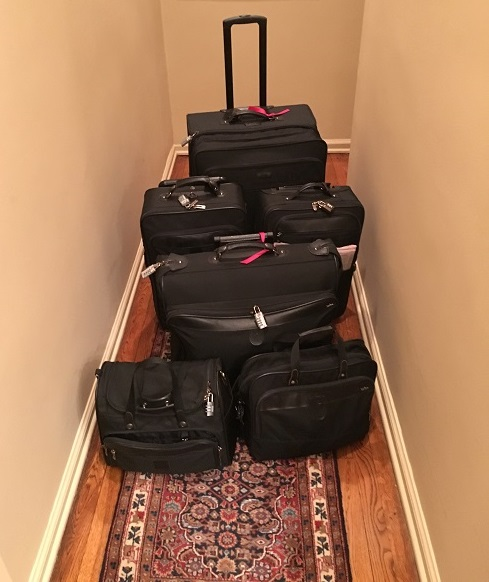 Luggage for 3 Weeks