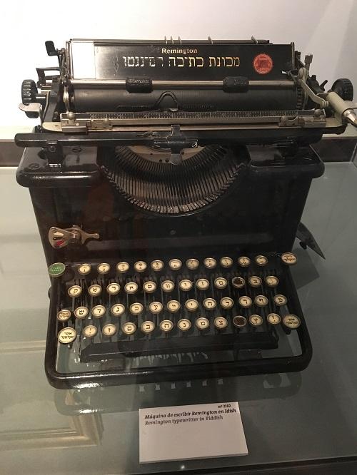Museum Typewriter