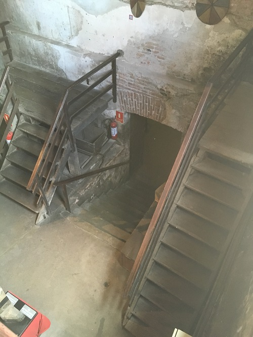Stairway to Cellar
