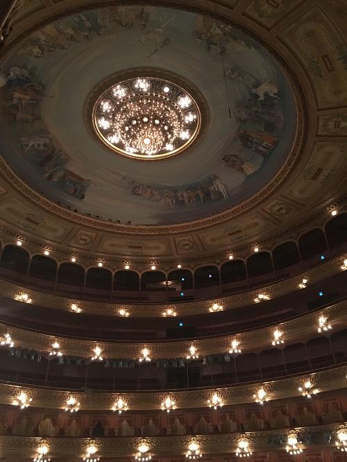 Teatro Auditorium Ceiling