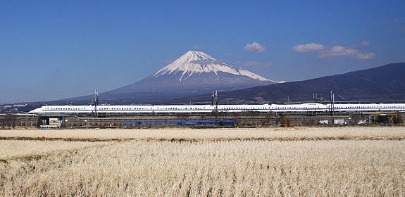 Bullet Train - Mt. Fuji