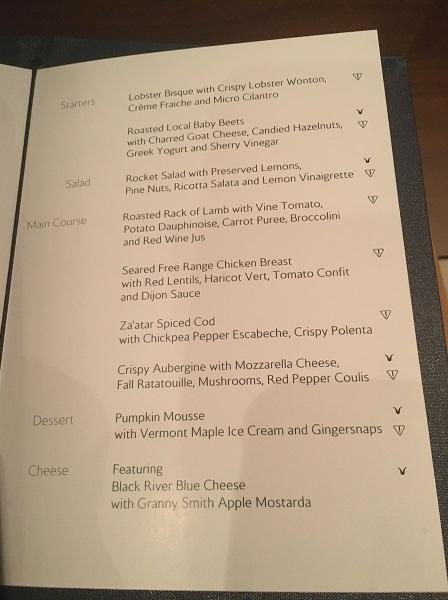 concorde-dinner-menu