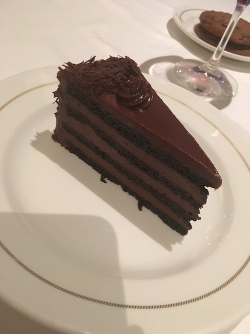 2017-04-19 - 08 - Thomas Keller Grill - 05 - Chocolate Cake