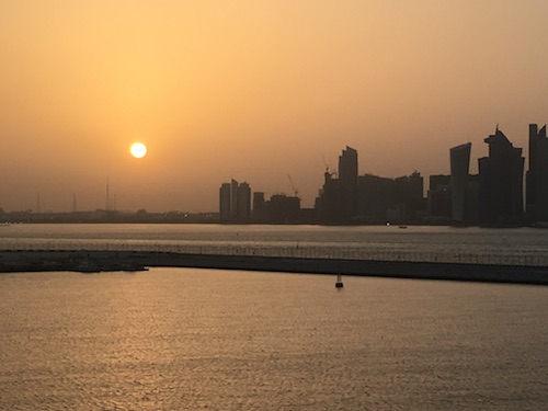 Doha Sunset - 01
