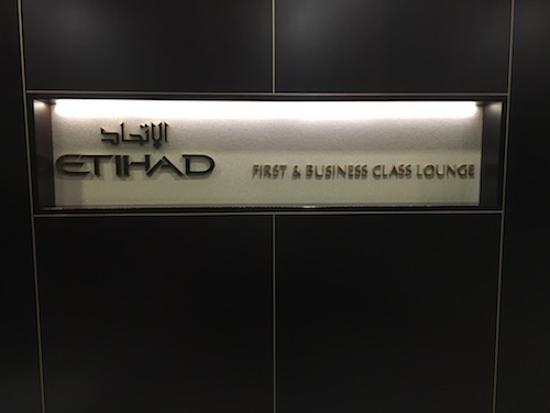 Etihad Lounge Entry