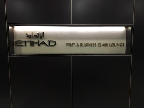 Etihad Lounge Entry