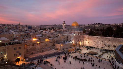 Dome of the Rock and the Temple Mount
