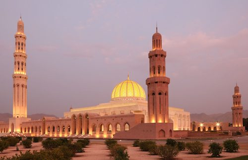 Muscat - Sultan Taymoor Grand Mosque
