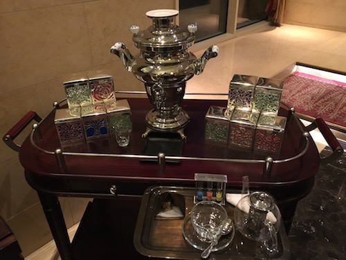 Raffles Tea Service