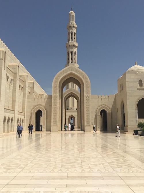 Sultan Qaboos Grand Mosque Exterior - 04