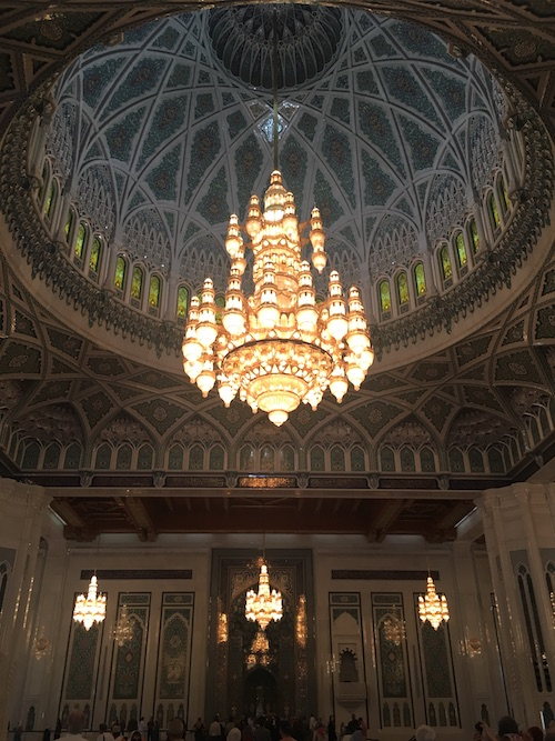 Sultan Qaboos Grand Mosque Interior - 01