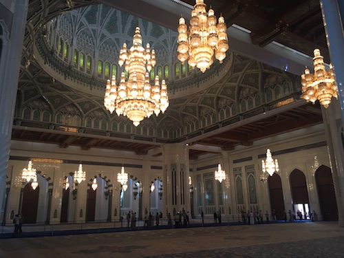 Sultan Qaboos Grand Mosque Interior - 02