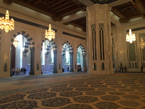 Sultan Qaboos Grand Mosque Interior - 03