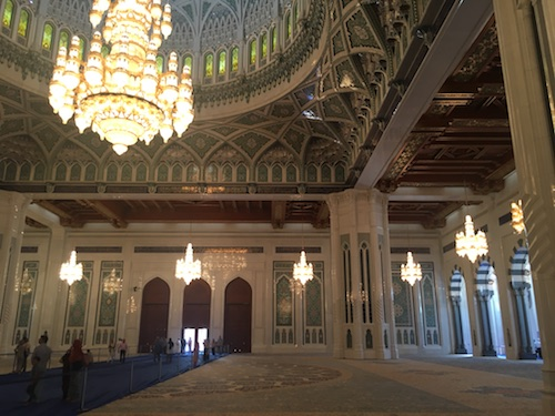 Sultan Qaboos Grand Mosque Interior - 06