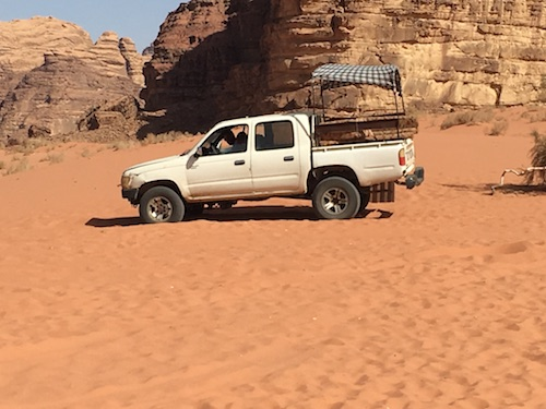 Wadi Rum - 09 - Truck
