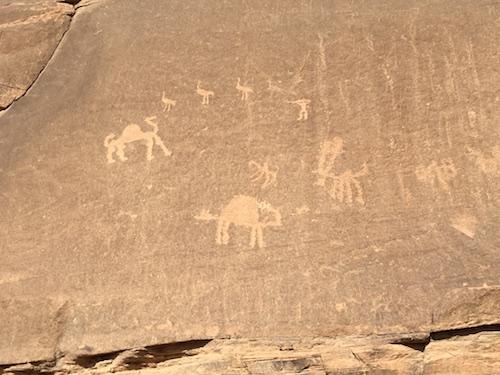 Wadi Rum - 11 - Graffiti