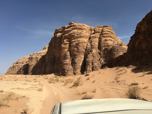 Wadi Rum - 12 - MAJESTIC from Truck