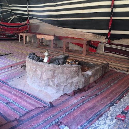 Wadi Rum - 14A - Bedouin Camp - Stove