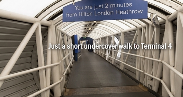 Walkway LHR - Hilton