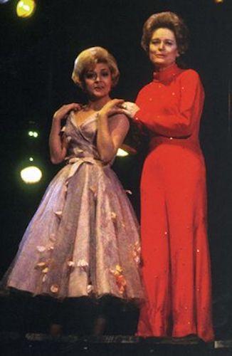 Dorothy Collins & Alexis Smith