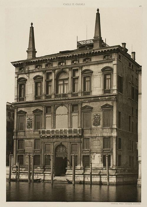 Palazzo Papadopoli - 1890